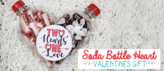 Valentines Crafts: Two Halves of One Heart Gift