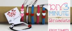 3 Minute DIY Bracelets
