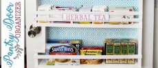 Build a Beautiful and Affordable Pantry Door Organizer