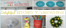 Spice Up Your Kitchen with These Delightful DIY Kitchen Decorating Ideas