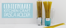 Contemporary Kitchen Craft Series : Tall Pasta Containers