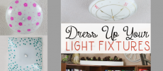 Unique Light Fixtures You Can Make In Minutes On the Cheap