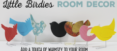 Darling Little Birdies DIY Room Decor