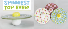 How to Make Easy Spin Tops that Spin Forever!