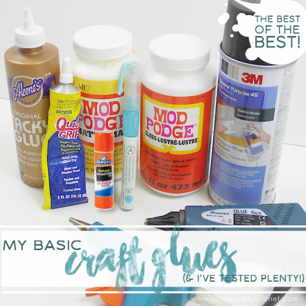 My favorite crafting supplies craft glue for Best glue for crafts