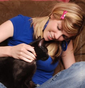 Amy & Love Cat