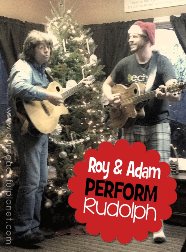 Roy and Adam Perform Rudolph