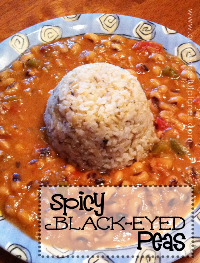 Spicy Black Eyed Peas Recipe