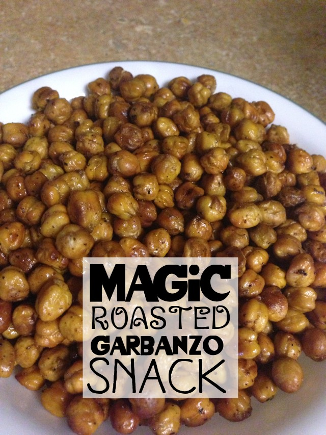 Magic Roasted Garbonzo Snack B