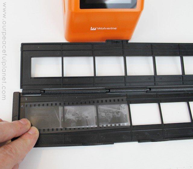 Digitizing the Decades Using a Negative Scanner b