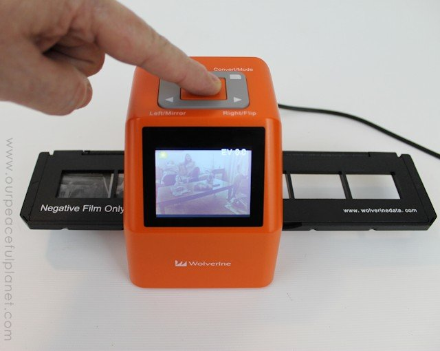 Digitizing the Decades Using a Negative Scanner c