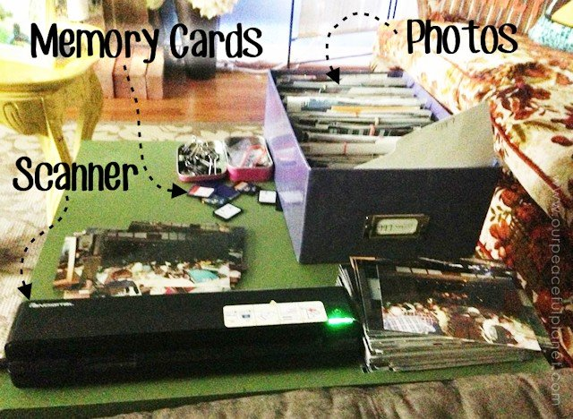 Digitizing the Decades. Scanning In Photos