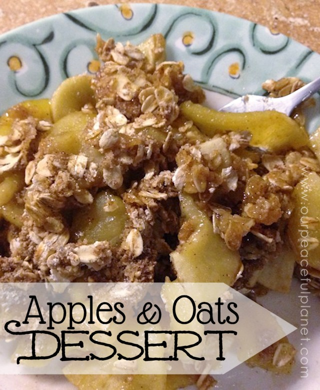 Apple and Oat Dessert