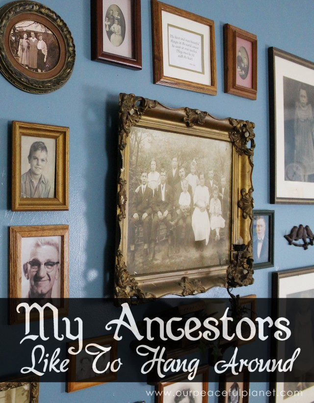 My Ancestors Like To Hang Around FEA