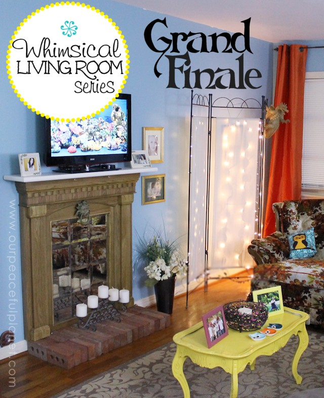 Whimsical Living Room Series Grand Finale