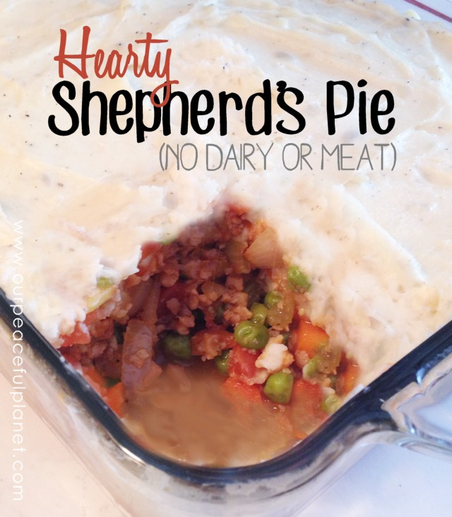 Hearty Shepherds Pie