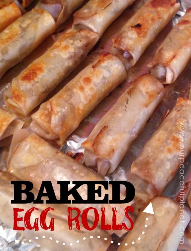 Baked Egg Roll