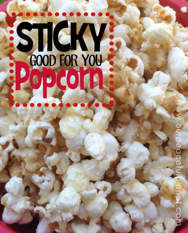 Sticky Good For You Popcorn 1