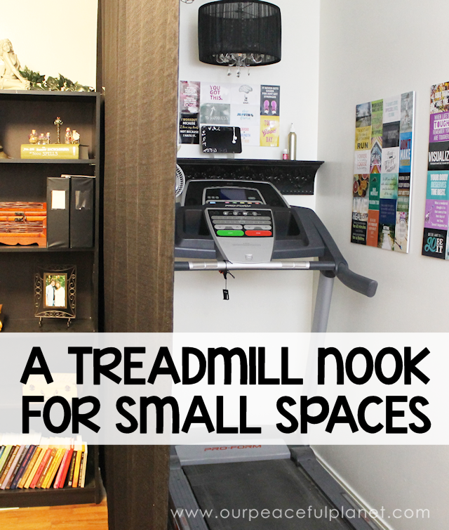 Treadmill Nook Create A Fun Exercise Corner Our