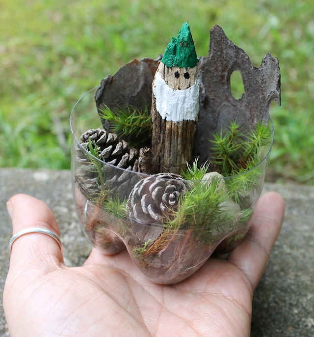Gnome in a cup DIY