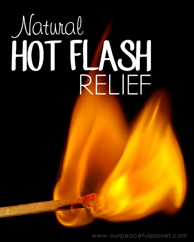 Natural Hot Flash Relief