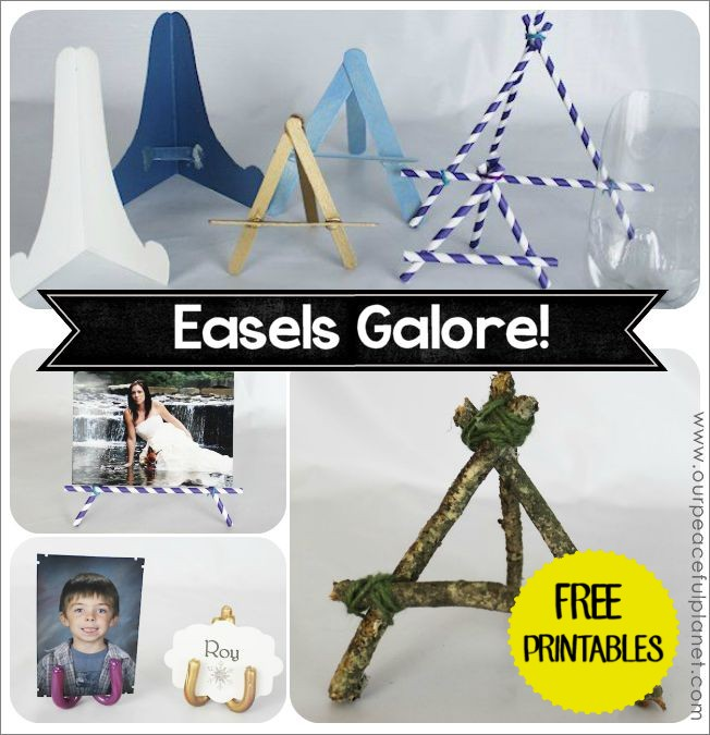Make Your Own Easels