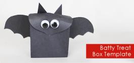 Batty Treat Box (Free Template)