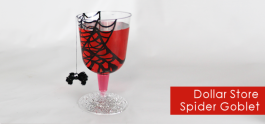 Spider Goblet DIY