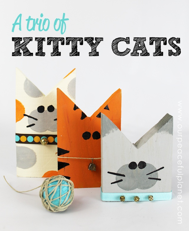 Make This Darling Trio of Kitty Cats!