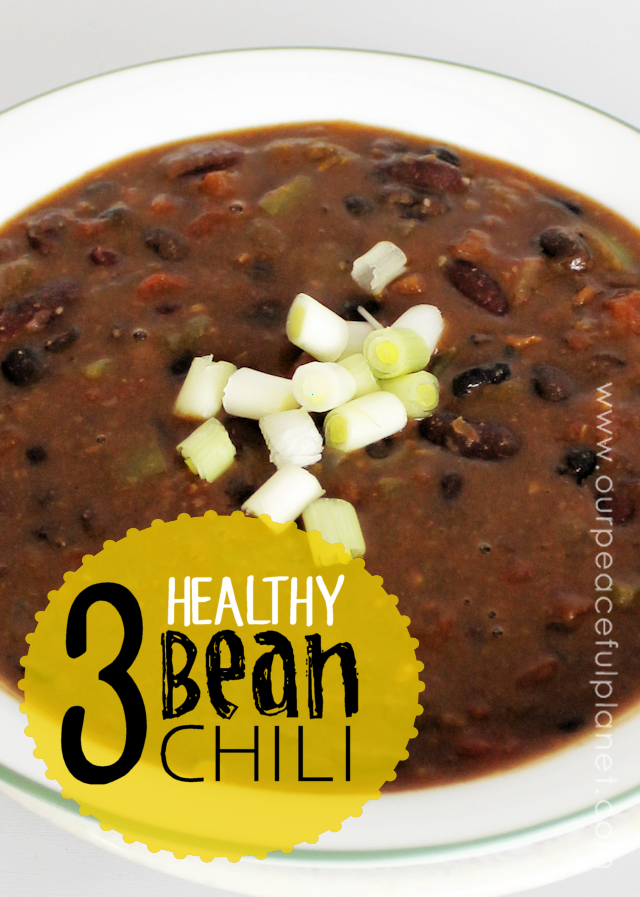 Three Bean Chili Vegan