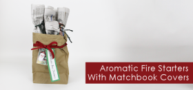 Aromatic Fire Starter Kit & Matchbox Covers