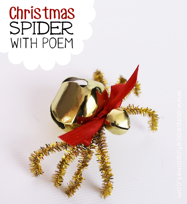 Legend Of The Christmas Tree Poem: The Christmas Spider DIY : Free Poem Printable