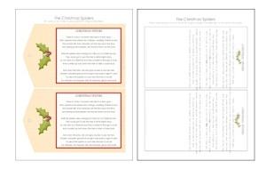 The Christmas Spider DIY : Free Poem Printable ·