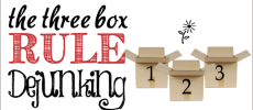 3 Box Rule Dejunking : Key To Easy Clutter Removal!