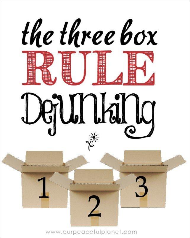 3 Box Rule Dejunking