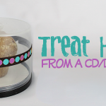 CD/DVD Container Covered Treat Plate