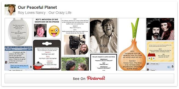 Roy Loves Nancy - On Pinterest