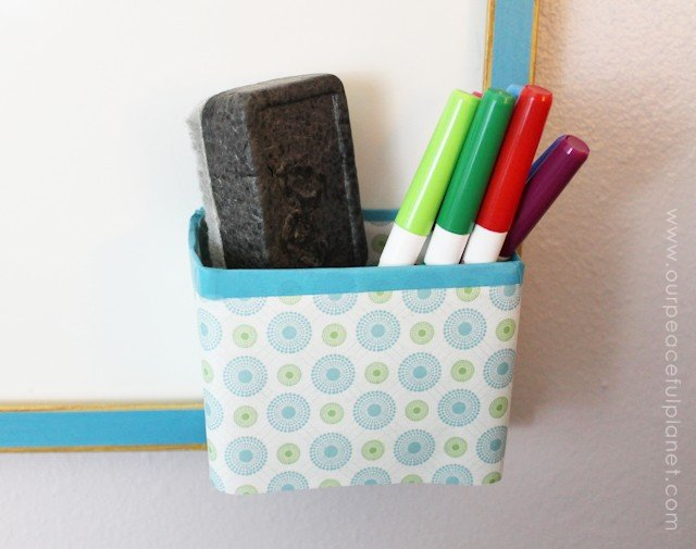 Creative Wipe Off Planning Board Pocket Holder