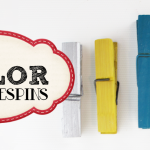 How To Color Clothespins
