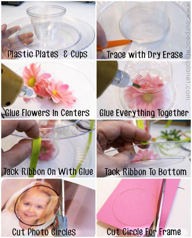 Inexpensive Lovely DIY Platter From Dollar Store Items 4