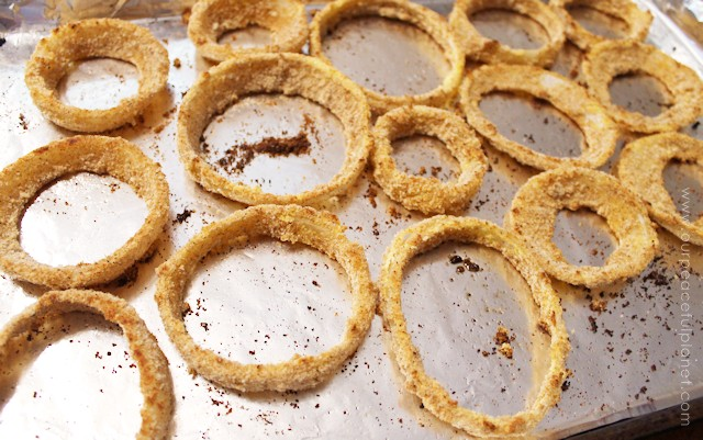 Baked Onion Rings 5