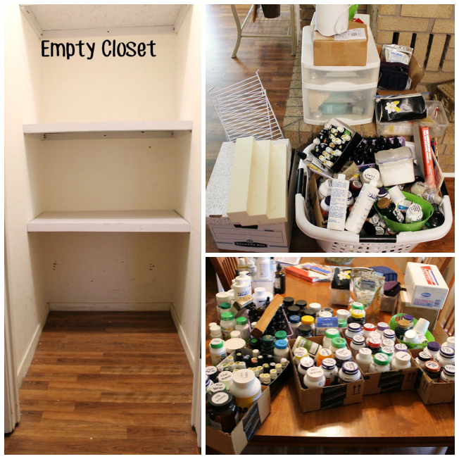 Herb Closet Makeover EMPTYING IT OUT Blank630x20