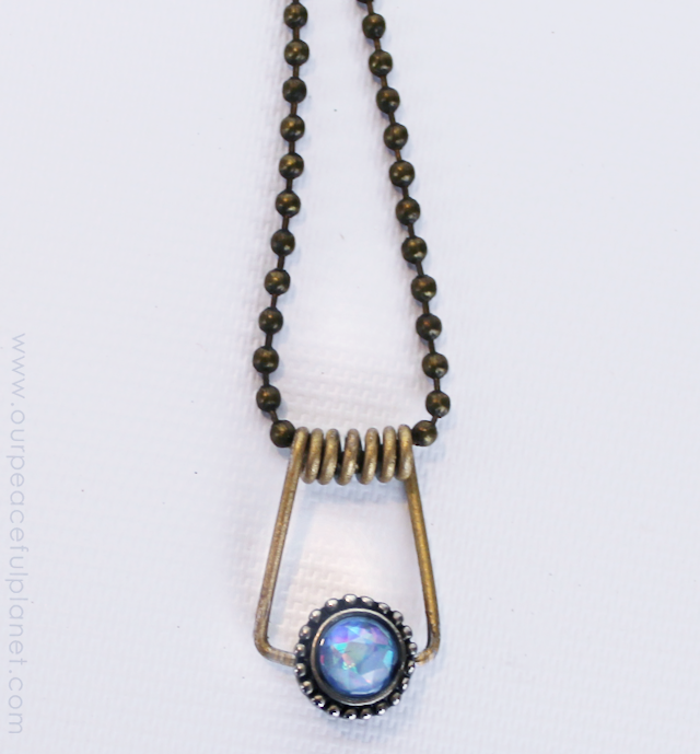 Clothespin Spring Necklaces DIY