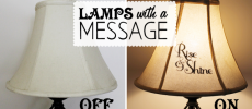 Lamps With Messages : Express Yourself!