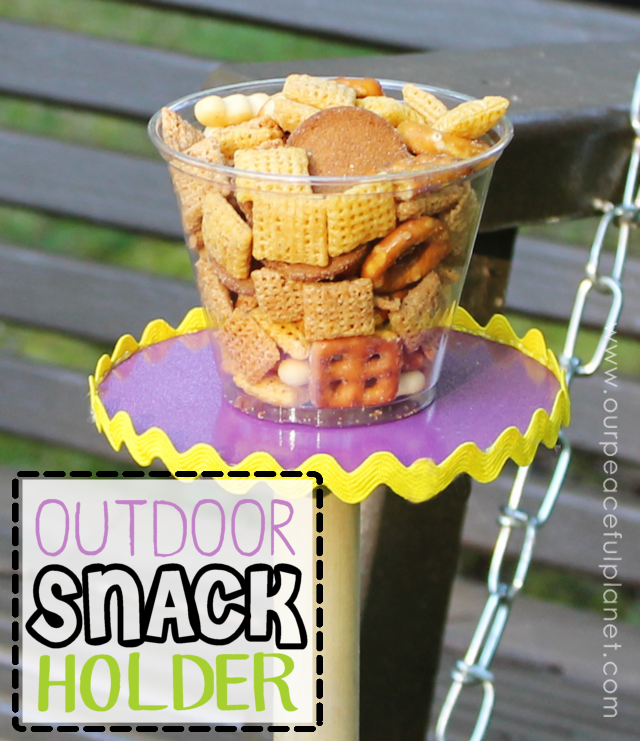 Outdoor Snack Holder