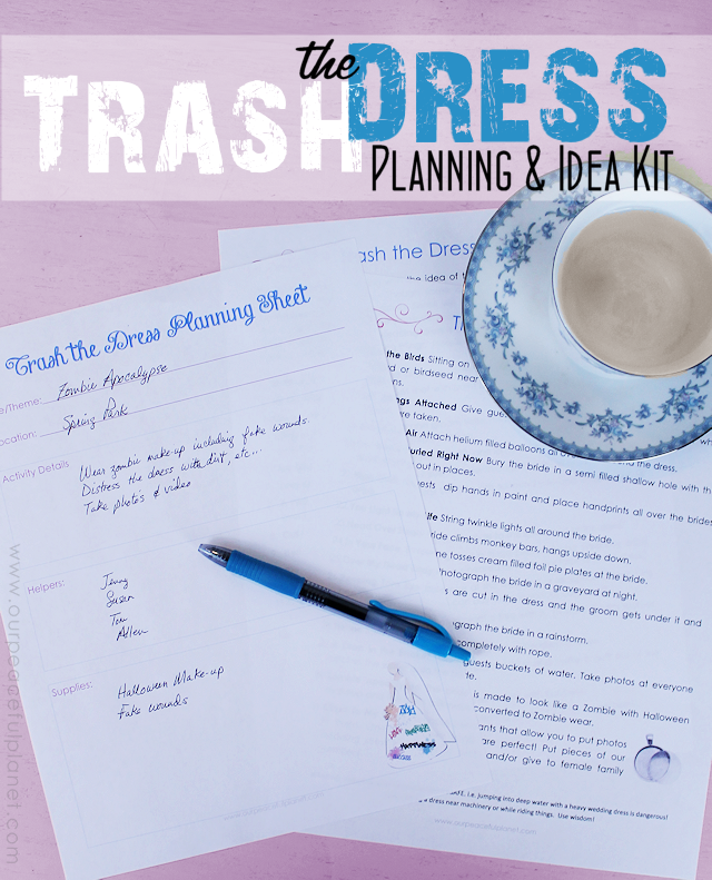 Trash the Dress Planning Kit