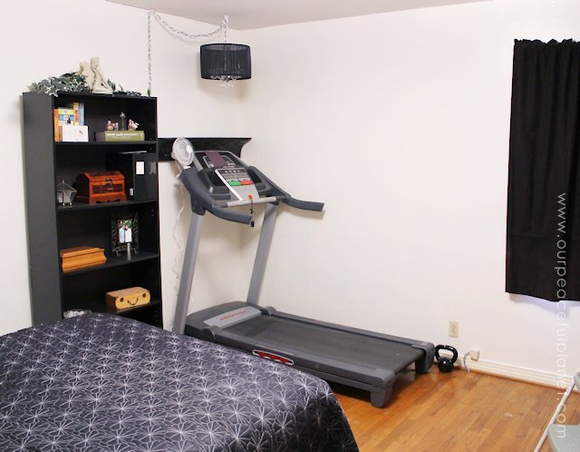 A Treadmill Nook For Small Spaces 2