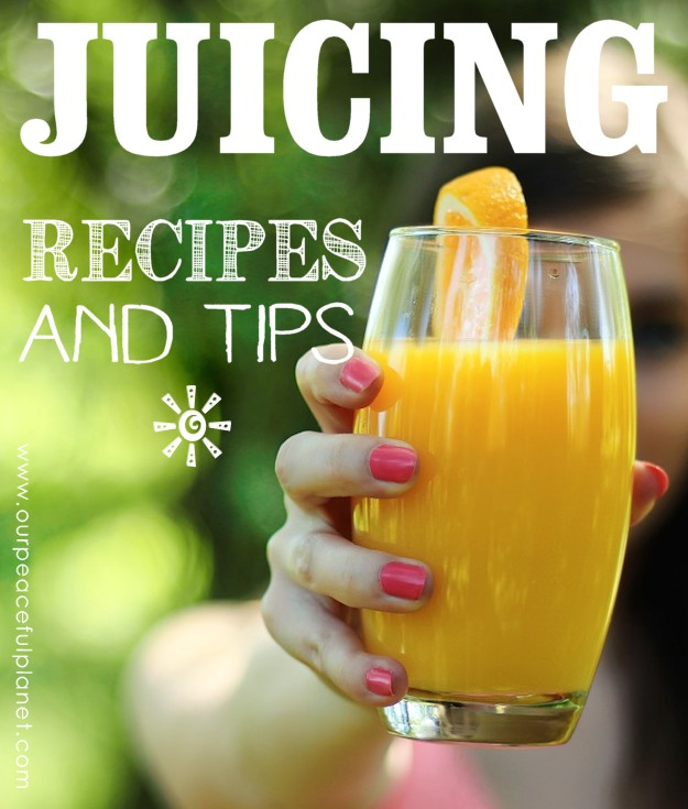 Juicing is an incredibly quick way to get a burst of live nutrients into your body! There is no end to the types you can make and we've got some of our favorite recipes to share plus some great tips all contained in our FREE JUICING PACKET! So get Juicing For Health!
