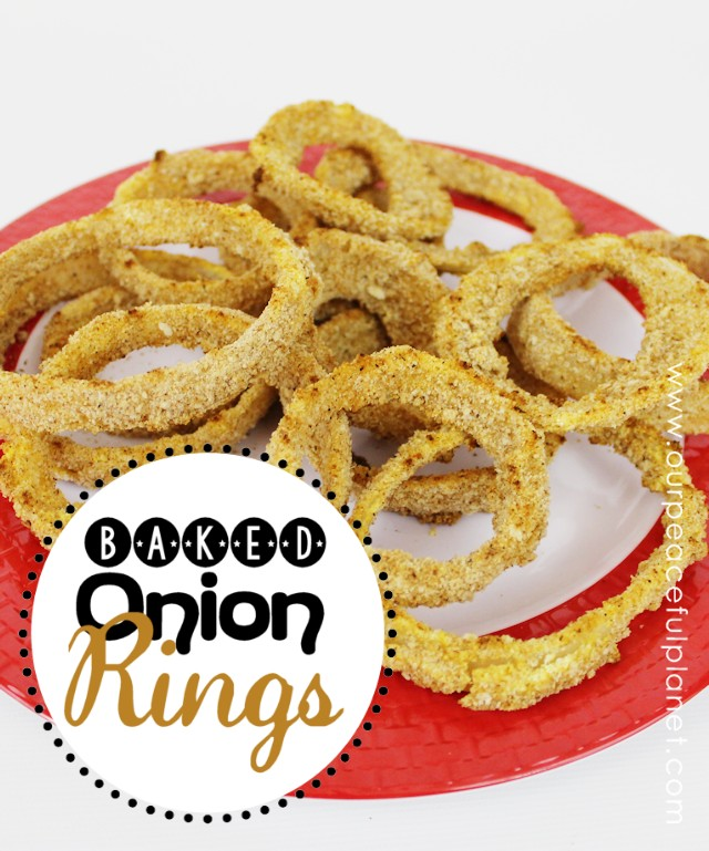 Have you given up Onion Rings in lieu of good health? Well guess what? You don't have too! These onion rings are simple and delicious with a crunchy coating and best of all … they're baked!  So eat up!