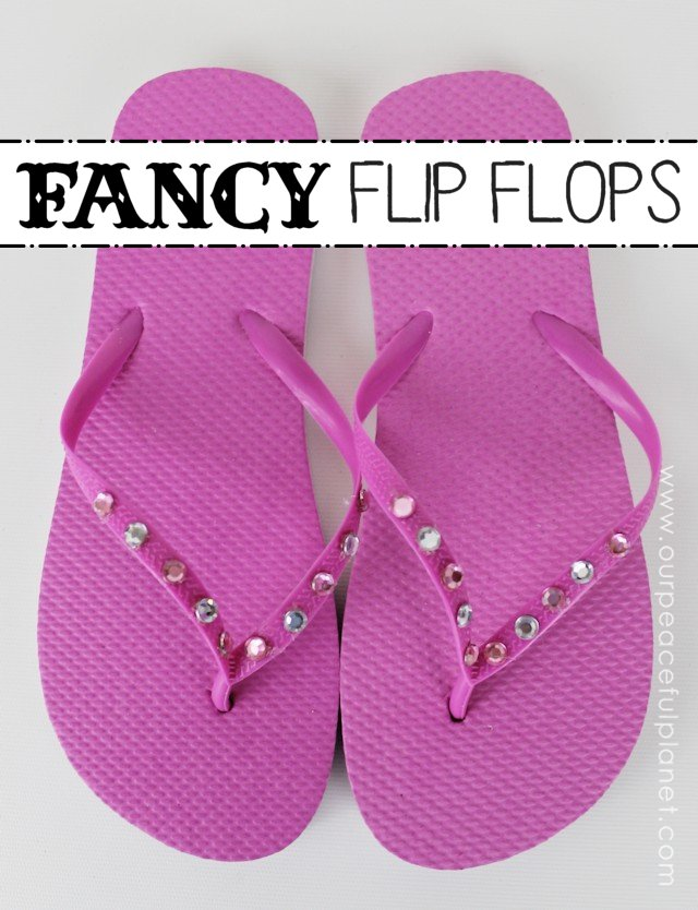 Grab some Dollar Store Flip Flops and turn them into gorgeous unique footwear in a matter of minutes! These simple DIY Flip Flop ideas will inspire you to make a pair for every outfit!